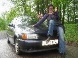 Karin Andres hat ein Faible für Autos mit Charakter.