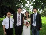 Lidija Radosavljevic und Alexander Cukic haben geheiratet