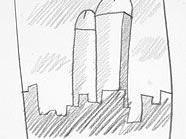 Manhattan Penis Drawings for Ken Hicks, 1978