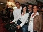 Manuela und Markus Podhradsky mit Brigitte und Michael Salzgeber.