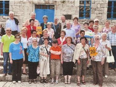 Nenzinger Pensionisten in Griechenland