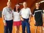 Neumayer Isolde / Cleves Claus, Sieger in der Sporthalle Bregenz