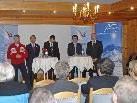 Pressekonferenz zum European Youth Olympic Festival am 4. Jänner 2010 im Hotel Montafoner Hof in Tschagguns.