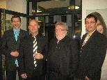Rosenberger: Gert, Klaus Familie und Martin mit Vater Seppl