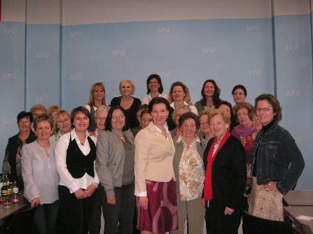 SPÖ Frauen waren begeistert von der Wienreise.