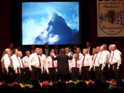 Sängerrunde Bludenz lud ein zum Jubiläumskonzert.