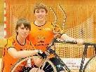 Sie gelten als die großen Favoriten auf EM - Gold im Radball. Johannes Bauer und Patrick Schnetzer