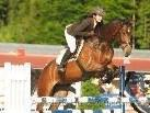Starker Auftritt von Reiterin Carola Lehner in Italien.
