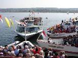Treffen der Bodenseeanrainer-Schiffe