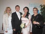 Turcen Gözgü und Meric Aktan feierten Hochzeit