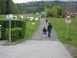 """""""Unterm Berg"""" - beliebter Rad- und Fußweg"""