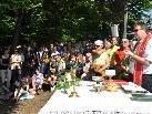 Viele Gläubige der Region feierten am Pfingstmontag die Messe auf dem Kummenberg.