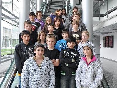 Volksmittelschule zu Besuch im Medienhaus