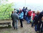 """Vom """"Gsätzle"""" bietet sich ein schöner Ausblick übers Rheintal."""