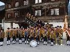 Zu Gast in Düns: die Gemeindemusik Schnifis