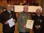 v.l.n.r. LOSM Horst Halder, OSM Werner Lins, LEOSM Siegfried Caser