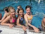 100 Meter schwimmen, 2000 Meter laufen - kein Problem für die Rankler Schülerinnen