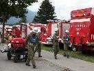 """250 Feuerwehrgruppen aus Vorarlberg, dem ganzen Bundesgebiet, Liechtenstein und Südtirol starten bei den 59. Feuerwehrleistungsbewerben um den """"Goldenen Helm""""."""