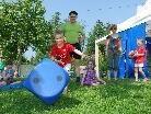 Action, Spiel und Spass standen auf dem Programm der Familienolympiade.