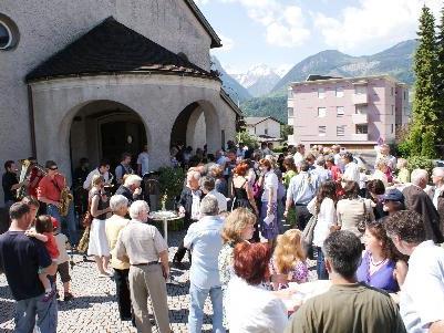 Anlässlich der Jubiläen findet ein großes Fest in der Pfarre Herz Mariae statt.
