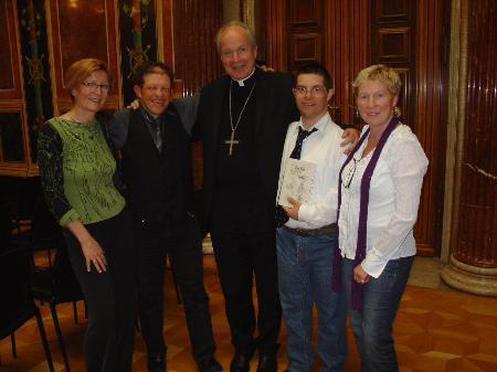 Autoren Jürgen Bonner und Johannes Sartori waren zu Gast im Parlament in Wien.
