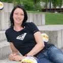 Beachvolleyballerin Claudia Lehmann wurde mit Partnerin Laboureur Zweite in Münster.