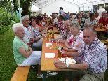 Das Gartenfest der KAB-Familie