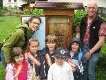 Der Besuch bei Imker Gootfried Wachter war sehr interessant.