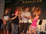 Die Band Franky and the Punk Poohs freut e sich riesig über die Weiterleitung zur Teilnahme am Bundeswettbewerb.