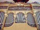 Die Behmann Orgel auf der Empore der Kirche St. Martin Dornbirn