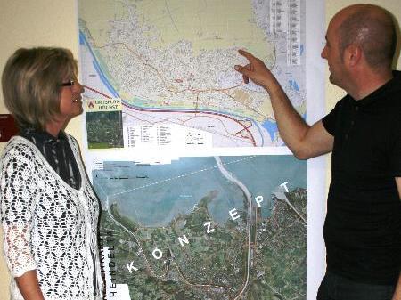 Die Gemeinde arbeitet an einem neuen Ortsplan