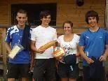 """Die """"Gojoten"""" holten sich den Sieg beim 1. Beach-Volleyball-Turnier in Au."""