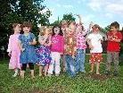 Die Kinder der Kibe Petzi hatten gemeinsam viel Spaß.