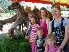 Die Kinder hatten viel Freued im Zirkus Kaiser