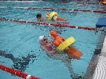 Die Landesmeisterschaften der Rettungsschwimmer fanden am vergangenen Sonntag in Schruns statt.