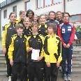 Die Mannschaft TS Gisingen holt in Schwechat die Bronzemedaille.