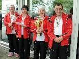 Die Mixed-Mannschaft des KC Stadt Dornbirn holte sich den Vizemeistertitel.