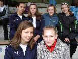 Die Rankweiler Mädchen durften sich schon wieder über Gold freuen.