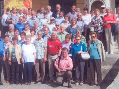 Die Teilnehmer des Ausfluges