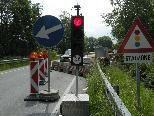 Die Werbenhof-Brücke wird bis Ende September nur einspurig befahrbar sein.