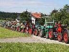 Die längste Traktorenschlange der Welt soll in Doren aufgestellt werden