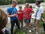 Eine Stunde Unterricht am Ufer der Dornbirner Ach