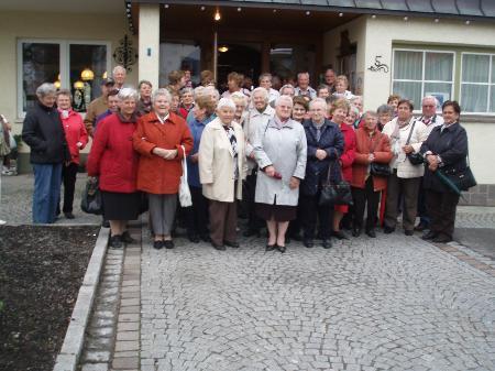 Einen tollen Ausflug erlebten die Nenzinger Pensionisten.