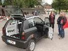 Elektromobilität im Mittelpunkt: Neben Damen- und Herrenfahrrädern kann erstmals auch ein Elektroauto getestet werden.