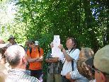 Georg Willi erklärte anhand von Karten die Entstehung des Alten Rheins