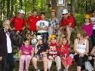 Großen Spaß hatten die Kinder des Flüchtlingshauses Galina im Kletterpark Brand