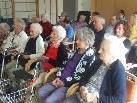 Großes Interesse am Konzert im Sozialzentrum.