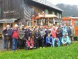 Gruppenfoto vom Vereinsausflug nach Schönenbach