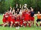 Hawo FC  Mellau jubelt über den Meistertitel in der 5. Landesklasse.