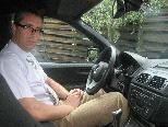 Hoteldirektor Peter Heine schätzt den Komfort des BMW X3.